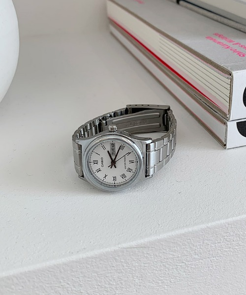 neo casio watch (silver)