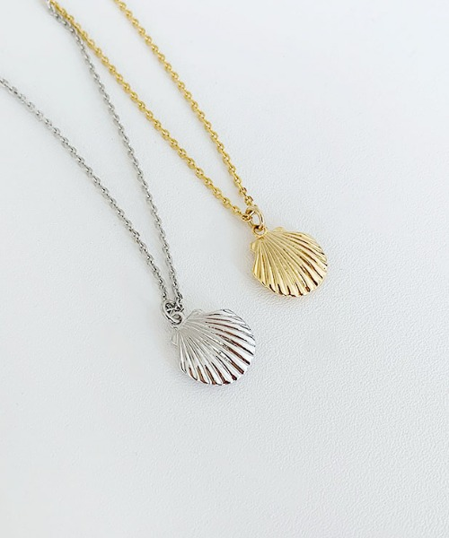 clam necklace (2color)